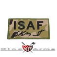 King Arms  ISAF Embroidery Patch - MC
