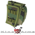 King Arms MPS RC-148 Pouch - Woodland