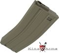 King Arms 120rds M4/M16 AEG Magazines (Dark Earth)