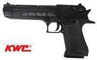 KWC Desert Eagle .50AE CO2 Gas Blowback Metal Slide Pistol (BK)