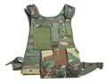 Marine Special Force MOLLE SYS Ver.Load LW Vest (Woodland)