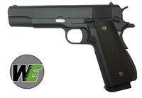 WE 1911A1 CAL.45 Full Metal GBB Pistol - BK