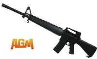 AGM M16A3 Rifle Fixed stock AEG