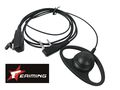 EAIMING PTT Clip Earphone & Clip Mic For KENWOOD Radio TK