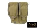 Flyye MOLLE Double M4/M16 Mag Pouch Ver.F-Coyote Brown