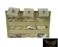 Flyye MOLLE Triple M16 Mag Pouch Ver.MI-Multicam