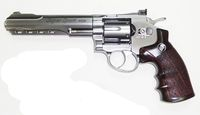 WG 702 CO2 6inch Magnum High Power Revolver (SV)