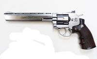 WG 703 CO2 8inch Magnum High Power Revolver (SV)
