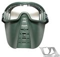 Classic Army Skirmish Mask with Clear Lens Green