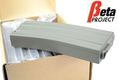 Beta Project 30 Round M4 Magazine 5Pcs Box Set -Grey