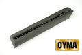 CYMA 27rounds Metal A square Magazine for G18C (CM030) AEP
