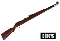 D-BOYS Kar98k Real Wood Gas Power Shell-Ejecting Sniper
