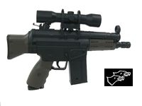 DOUBLE EAGLE Mini G3 Assault Rifle Airsoft Electric