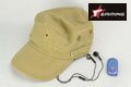 EAIMING Multi function combat Record Patrol cap (TAN)