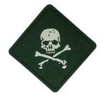EAIMING glow skeleton patch (OD)(Square)