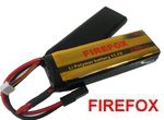 FireFox 11.1V Li-Polymer Lithium 12C battery 16mm