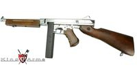 King Arms Classic Thompson M1A1 Military Special AEG - Silver