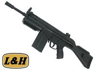 L&H G3 SAS Fixed Stock Metal Body AEG SMG Rifle (M3A3)