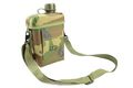 US Marking Water Bottle w/ Shoulder Pouch -Woodland Camouflage