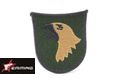 EAIMING Eagle Patch -Dark Brown (Embroidery/Sticker)