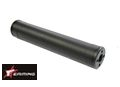 EAIMING Aluminum Airsoft Pistol Silencer(175mm 1/2-28 TPI ;BK)