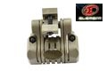 Element Polymer 25mm 5 Position Flashlight Laser Rail Mount -TAN
