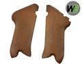 WE ABS Plastic Brown Grip Cover For WE P08 GBB