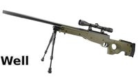 WELL ABS L96 MB-01C 3-9x40 Scope Bolt Action Sniper Rifle-OD